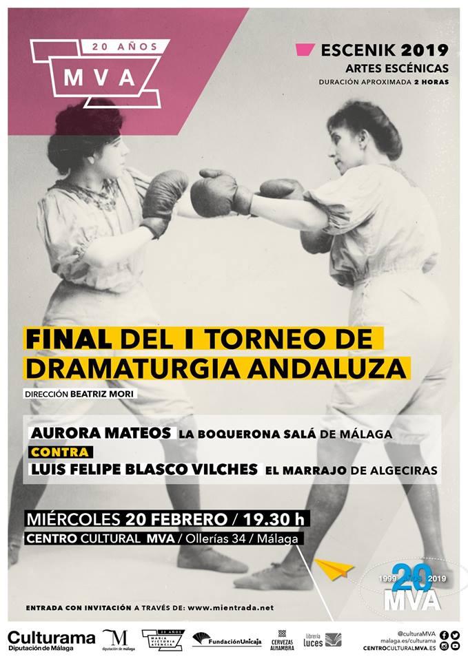 Final del I Torneo de Dramaturgia Andaluza